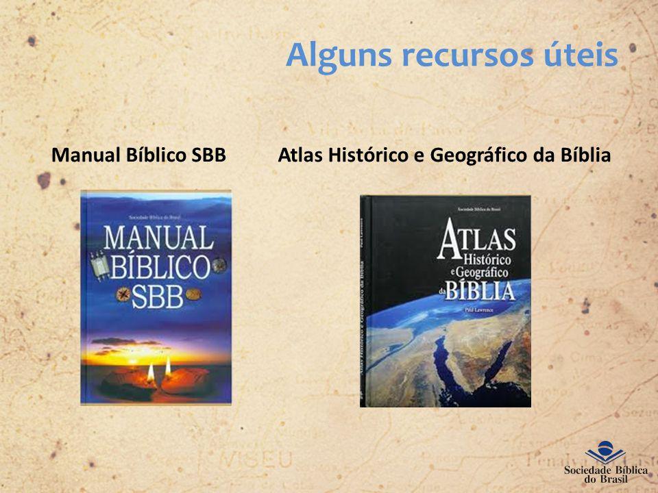 Manual Bíblico SBB Atlas Histórico e Geográfico da Bíblia