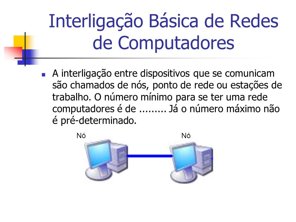 Interligação Básica de Redes de Computadores