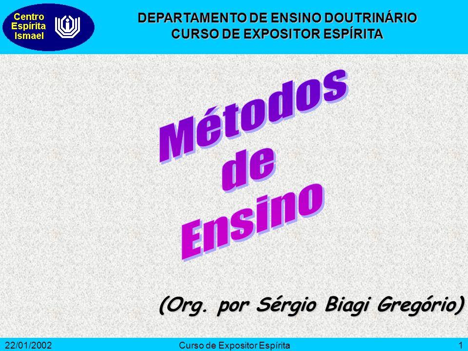 Métodos de Ensino (Org. por Sérgio Biagi Gregório)