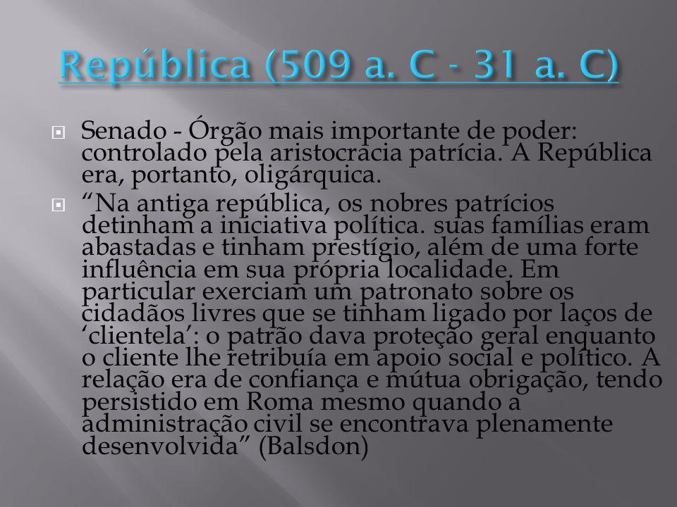 República (509 a. C - 31 a. C)