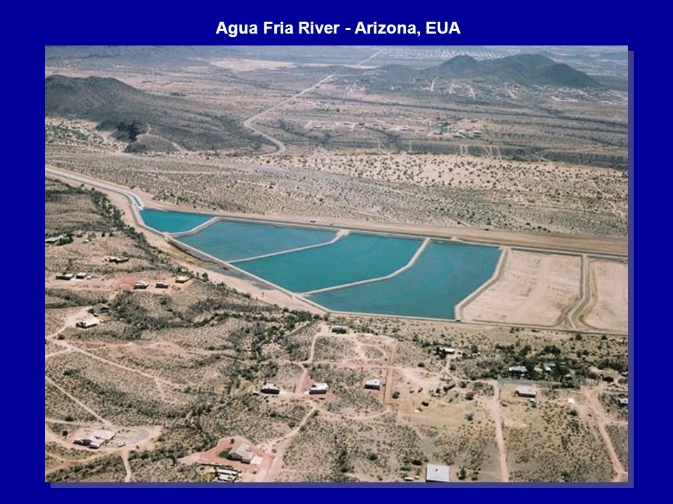 Agua Fria River - Arizona, EUA
