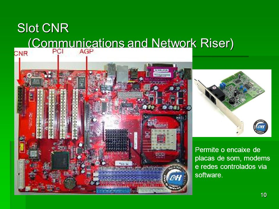 Slot CNR (Communications and Network Riser)