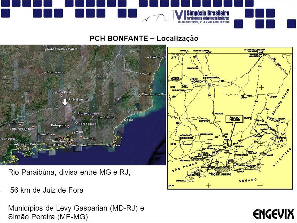 PCH BONFANTE – Localização