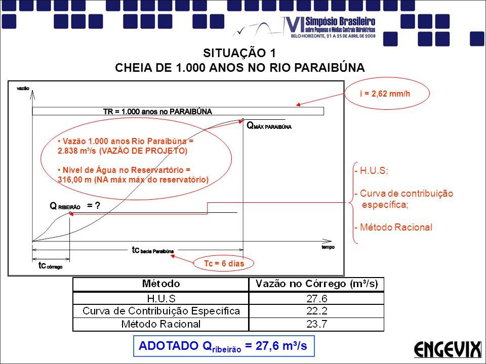 CHEIA DE 1.000 ANOS NO RIO PARAIBÚNA