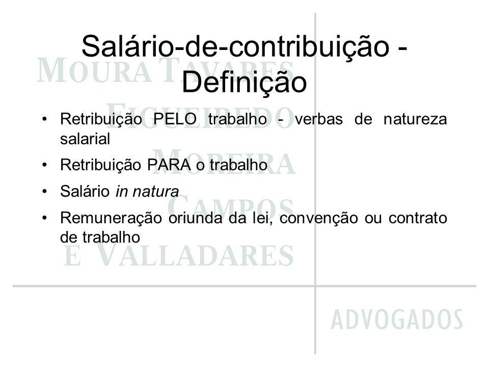Salário-de-contribuição - Definição