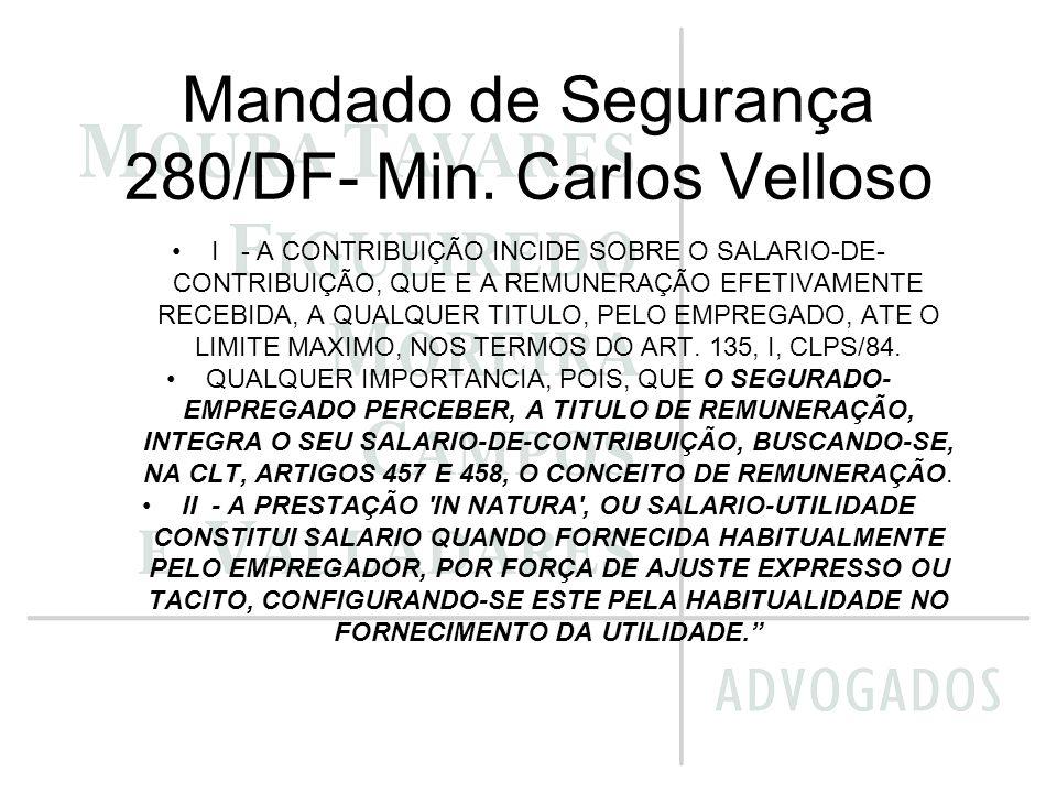 Mandado de Segurança 280/DF- Min. Carlos Velloso