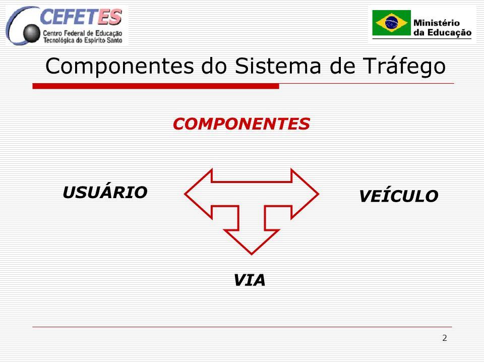 Componentes do Sistema de Tráfego