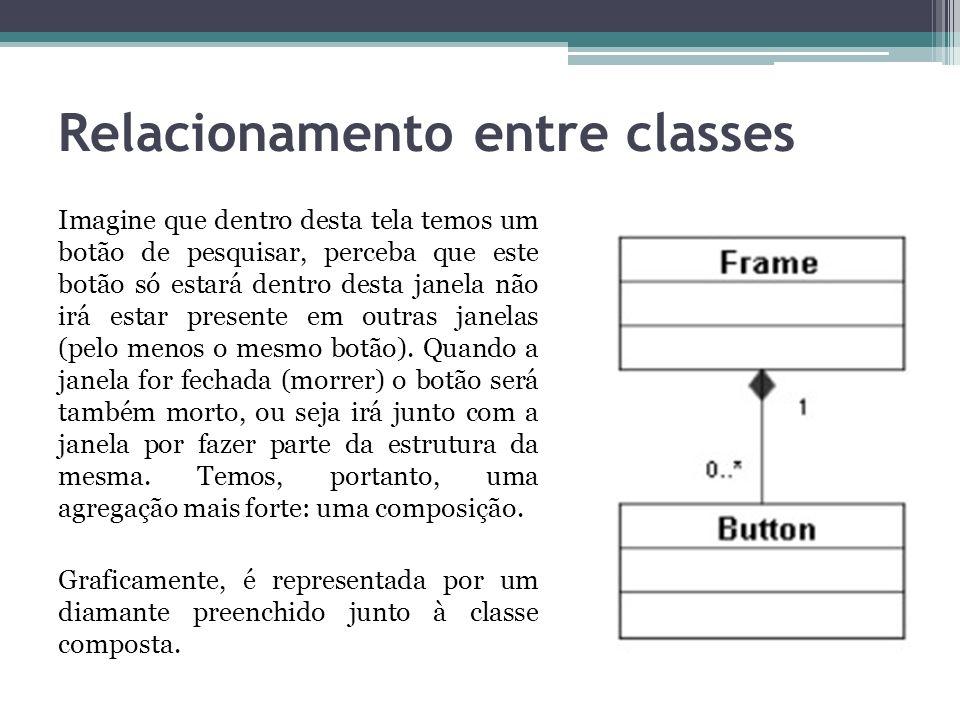 Relacionamento entre classes