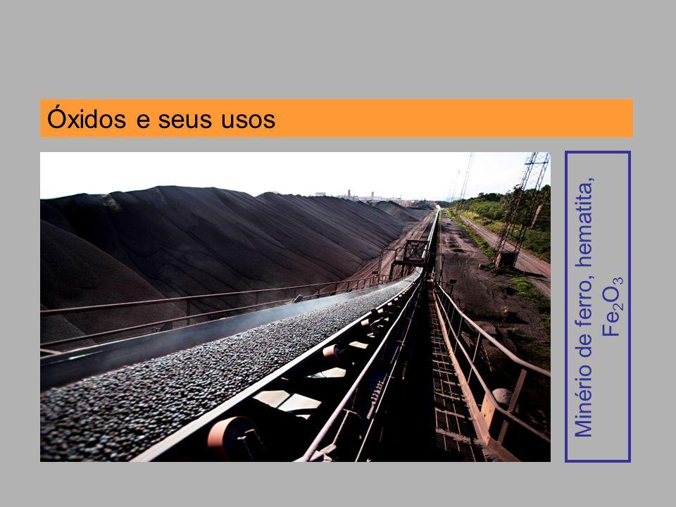 Minério de ferro, hematita,