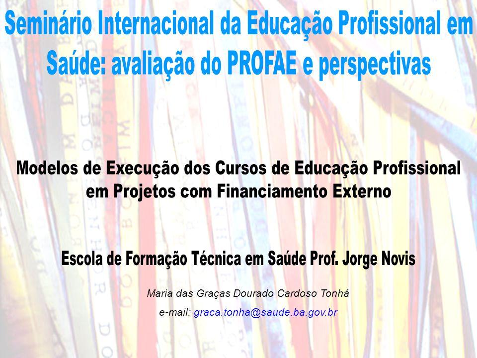 Seminário Internacional da Educação Profissional em