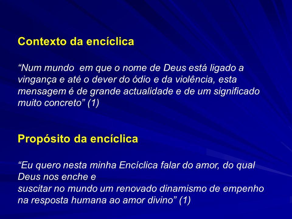 Propósito da encíclica