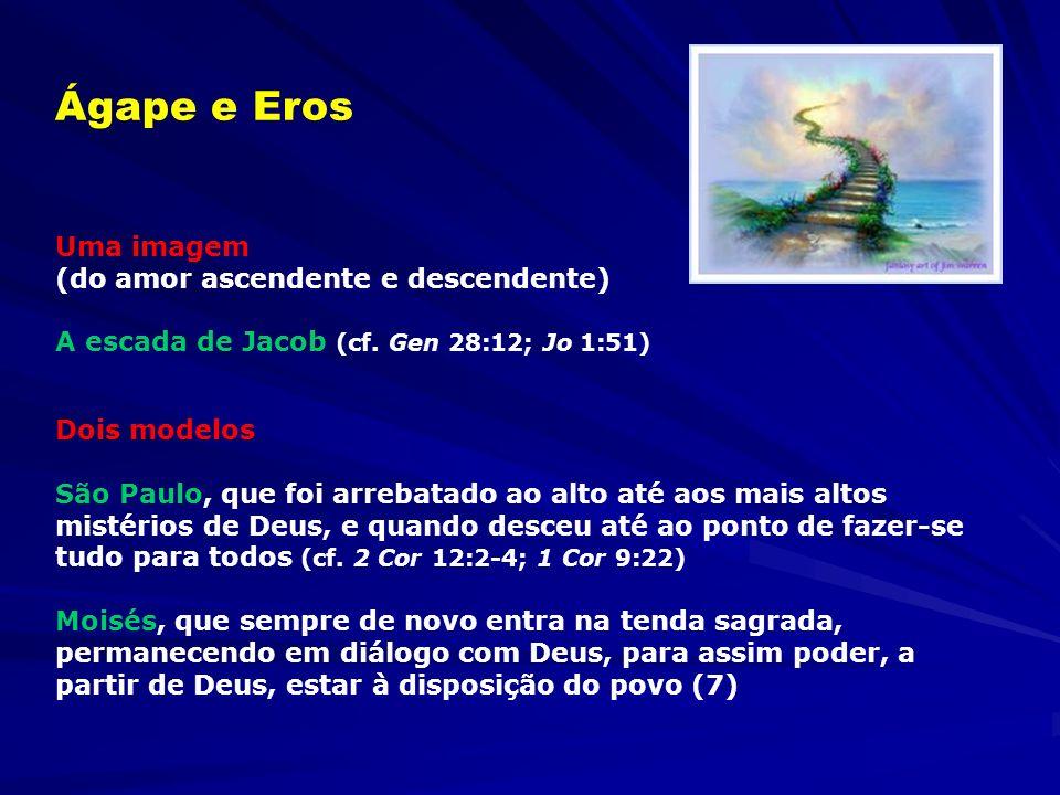 Ágape e Eros Uma imagem (do amor ascendente e descendente)