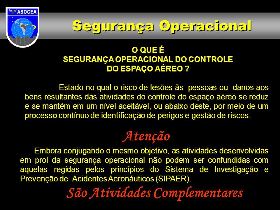 SEGURANÇA OPERACIONAL DO CONTROLE