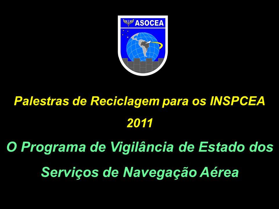 O Programa de Vigilância de Estado dos Serviços de Navegação Aérea