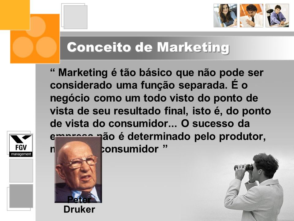 Conceito de Marketing