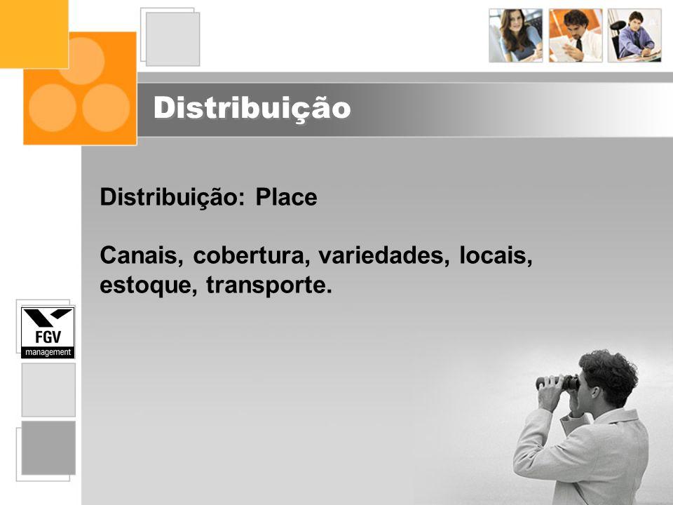 Distribuição Distribuição: Place