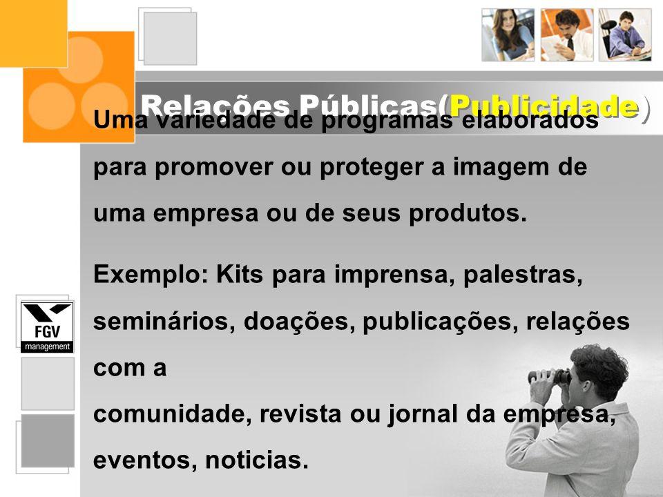 Relações Públicas(Publicidade)