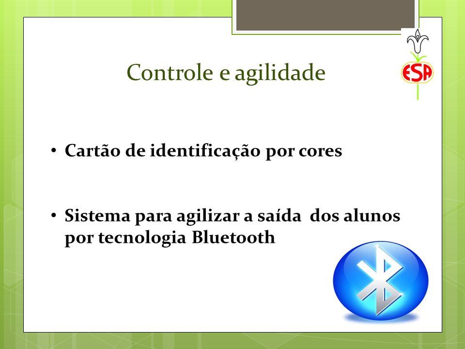 Controle e agilidade Cartão de identificação por cores