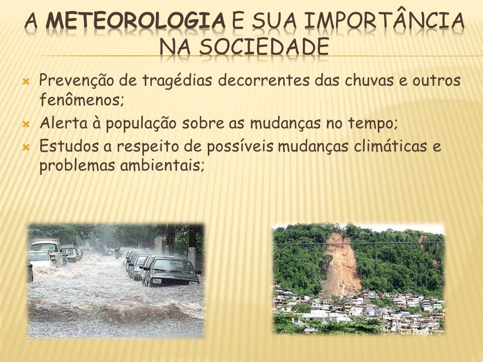 A meteorologia e sua importância na sociedade