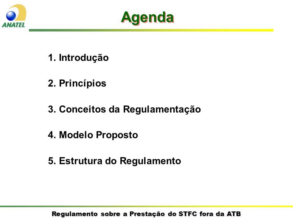 Agenda Introdução Princípios Conceitos da Regulamentação