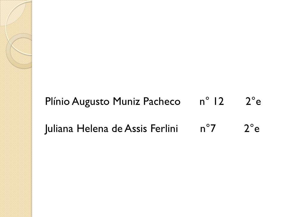 Plínio Augusto Muniz Pacheco n° 12 2°e