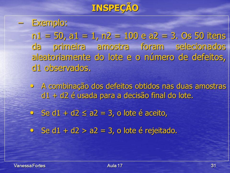 INSPEÇÃO Exemplo: