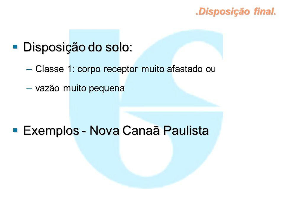 Exemplos - Nova Canaã Paulista