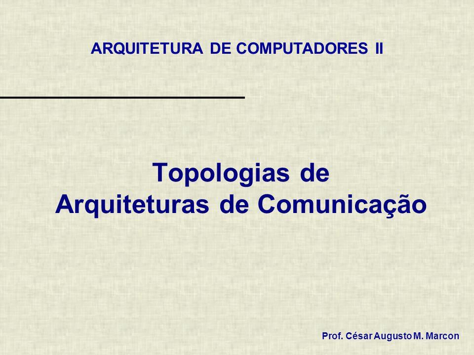 Topologias de Arquiteturas de Comunicação