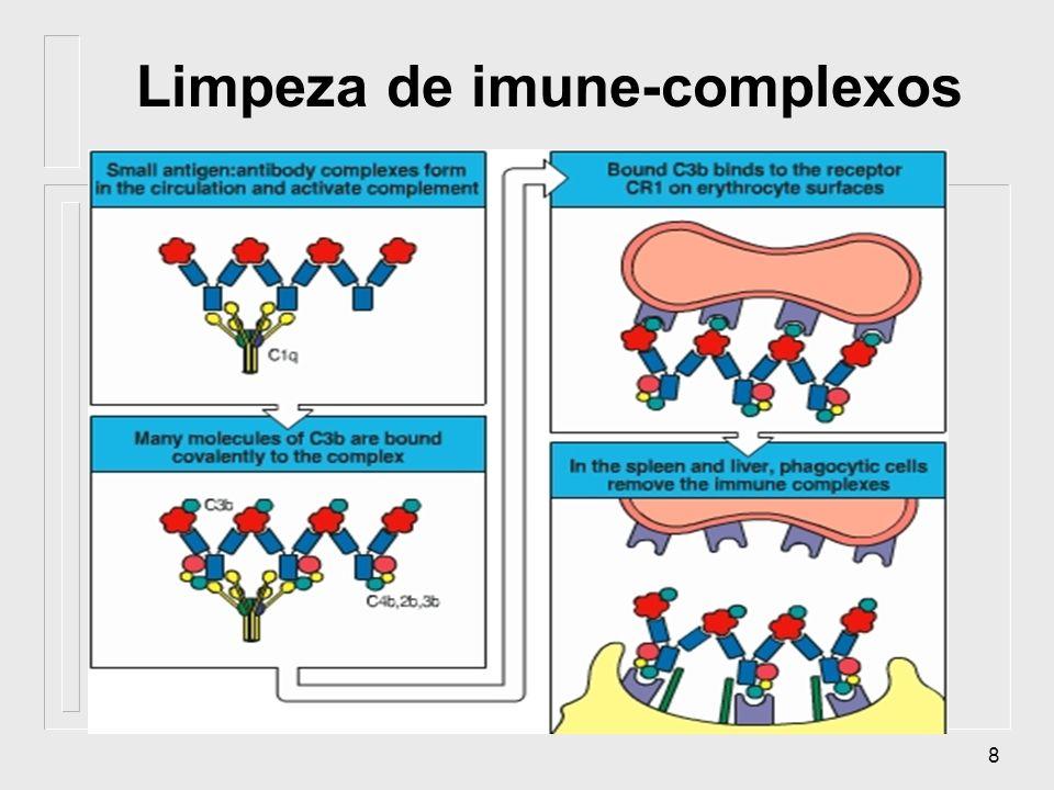 Limpeza de imune-complexos