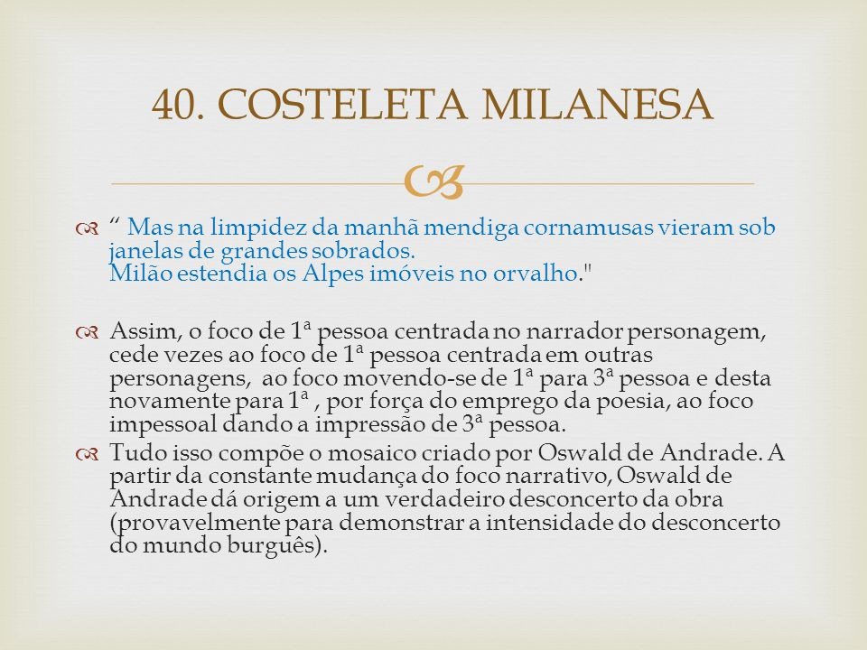 40. COSTELETA MILANESA