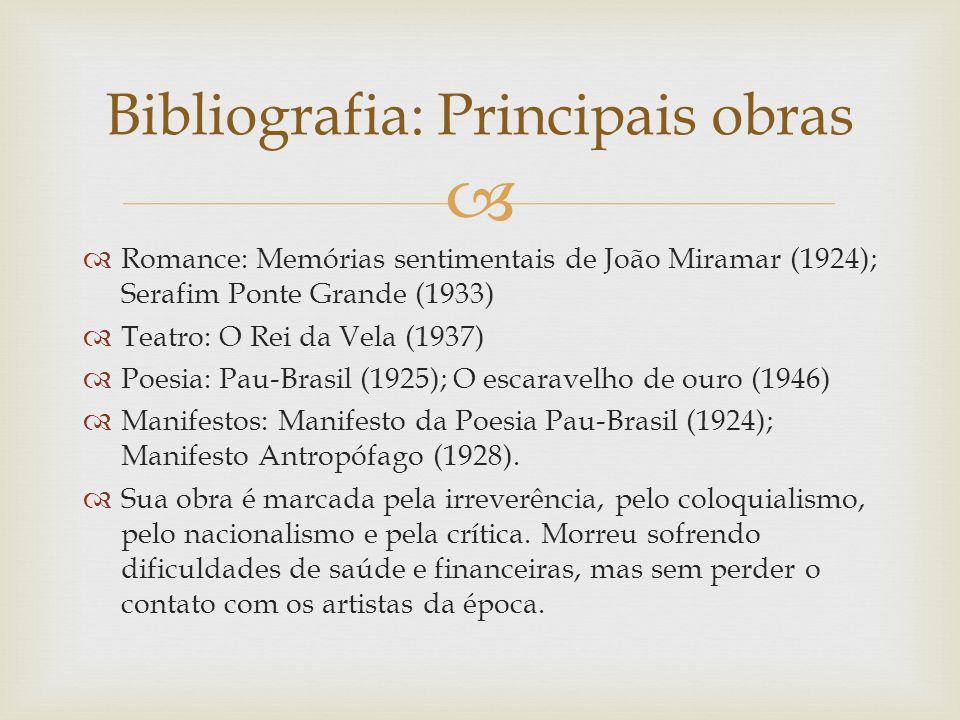 Bibliografia: Principais obras
