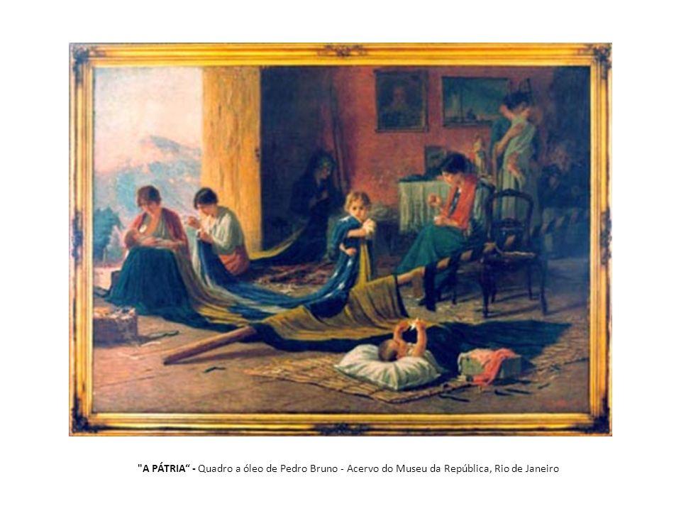 A PÁTRIA - Quadro a óleo de Pedro Bruno - Acervo do Museu da República, Rio de Janeiro