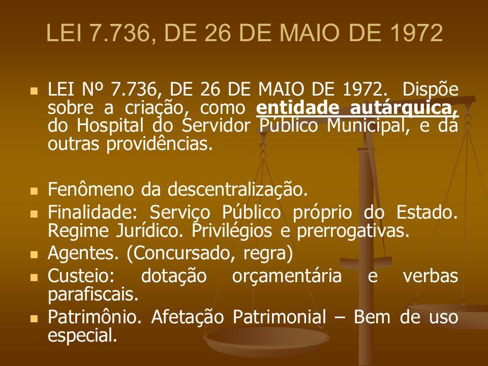 LEI 7.736, DE 26 DE MAIO DE 1972