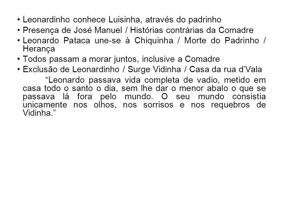 Leonardinho conhece Luisinha, através do padrinho