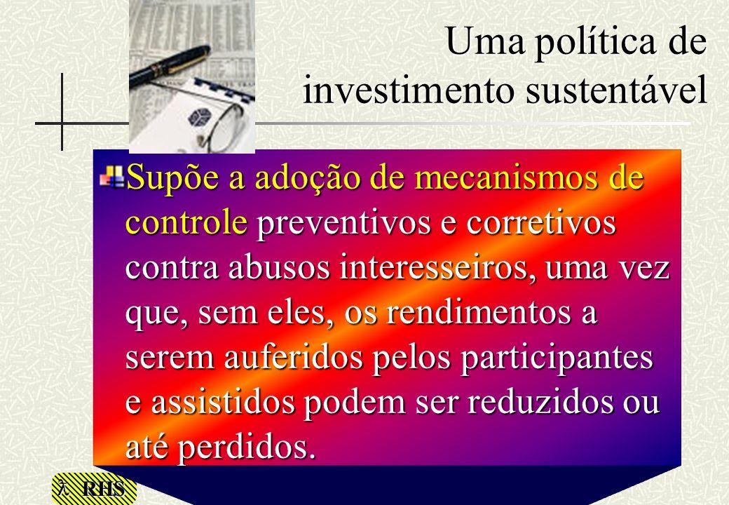 Uma política de investimento sustentável