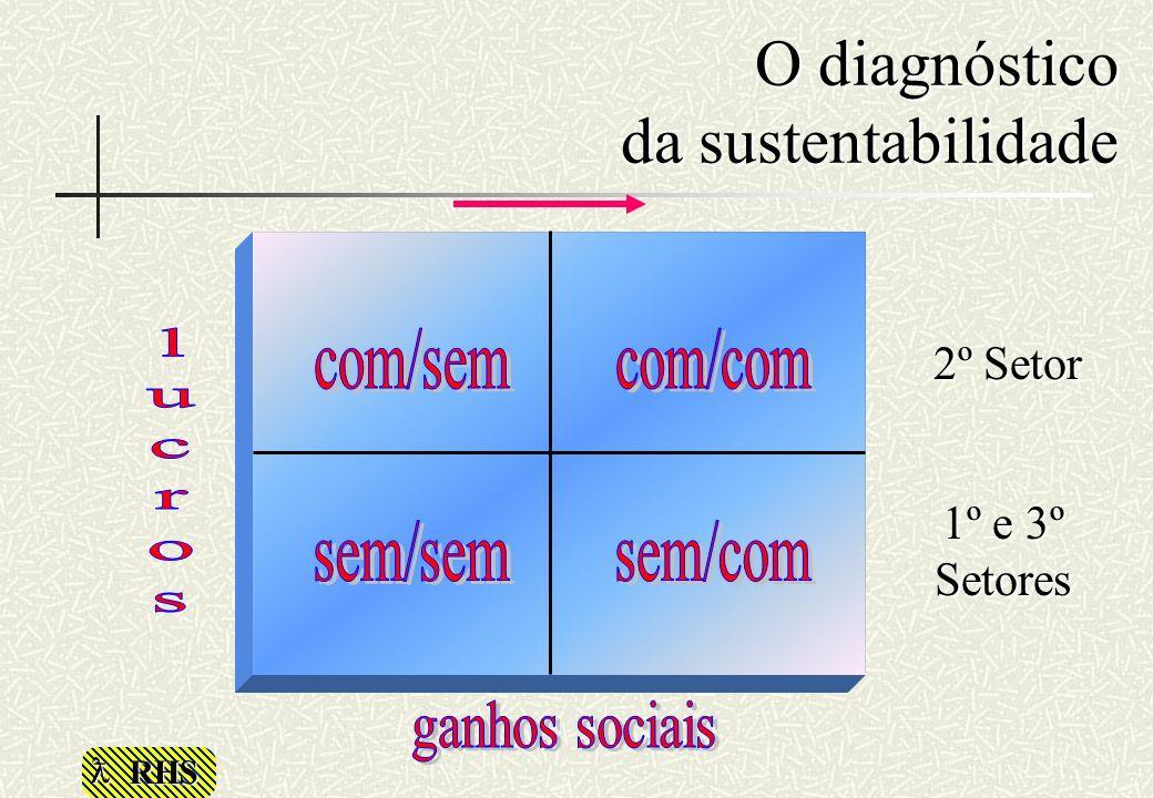 O diagnóstico da sustentabilidade
