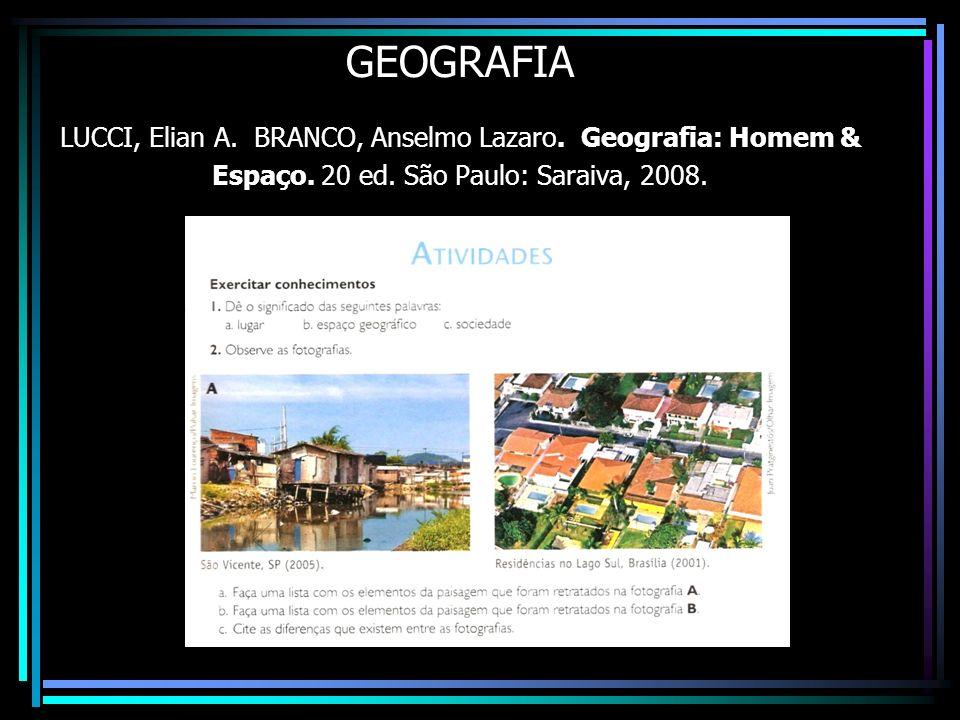 GEOGRAFIA LUCCI, Elian A. BRANCO, Anselmo Lazaro
