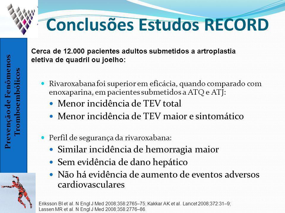 Conclusões Estudos RECORD