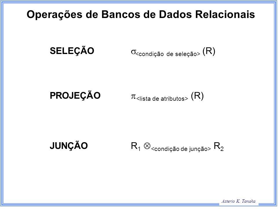 Operações de Bancos de Dados Relacionais