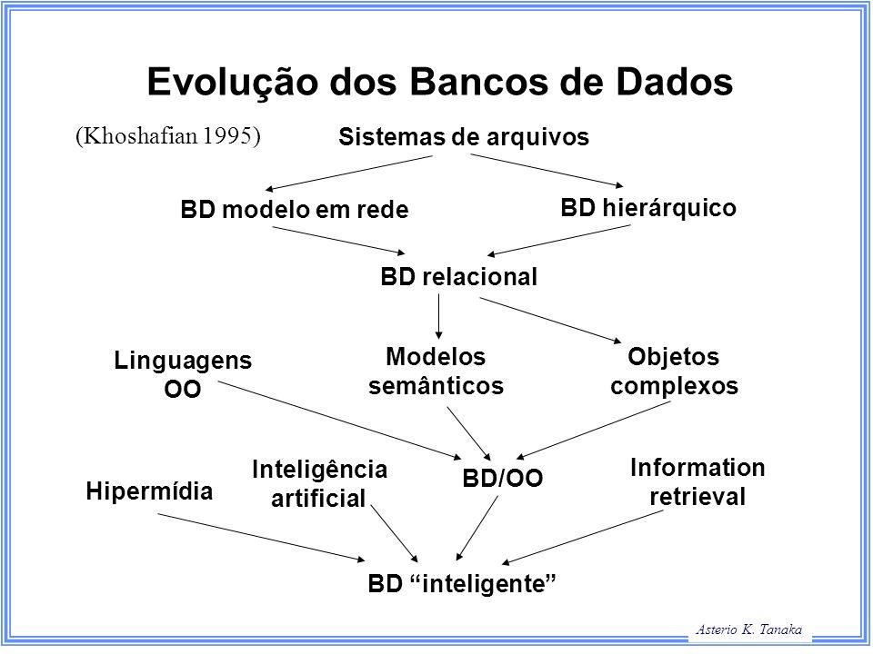 Evolução dos Bancos de Dados