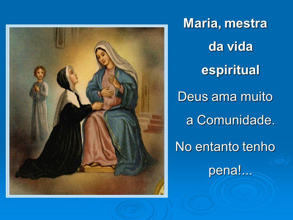 Maria, mestra da vida espiritual