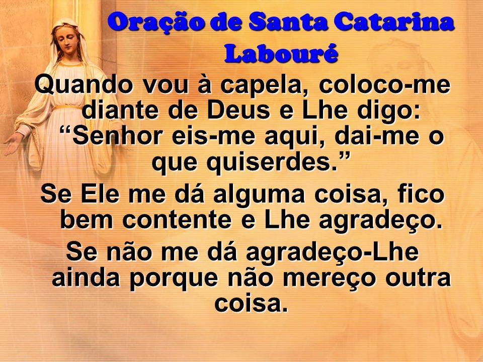 Oração de Santa Catarina Labouré
