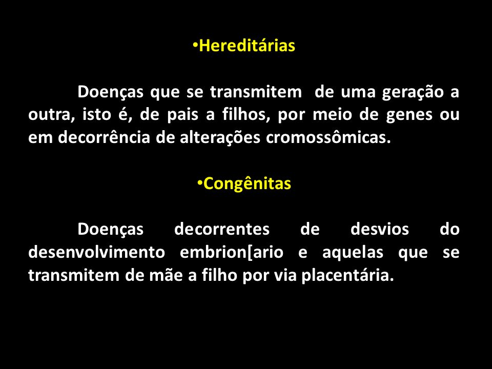 Hereditárias