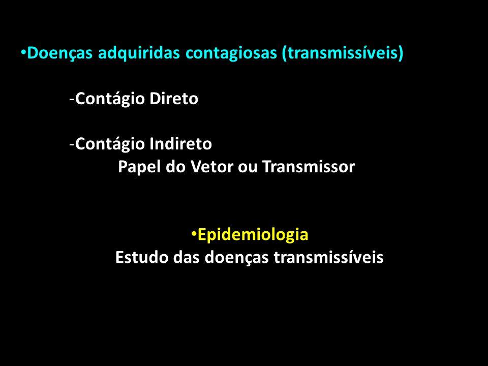 Estudo das doenças transmissíveis