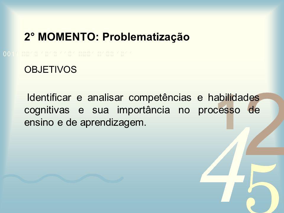 2° MOMENTO: Problematização