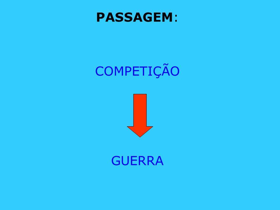 PASSAGEM: COMPETIÇÃO GUERRA