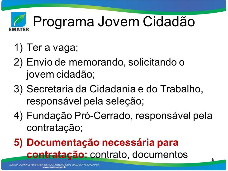 Programa Jovem Cidadão