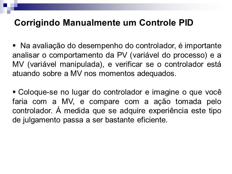 Corrigindo Manualmente um Controle PID