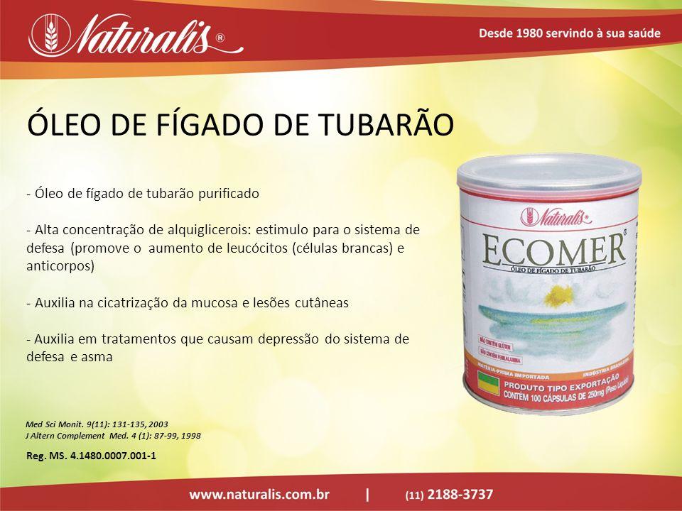 ÓLEO DE FÍGADO DE TUBARÃO