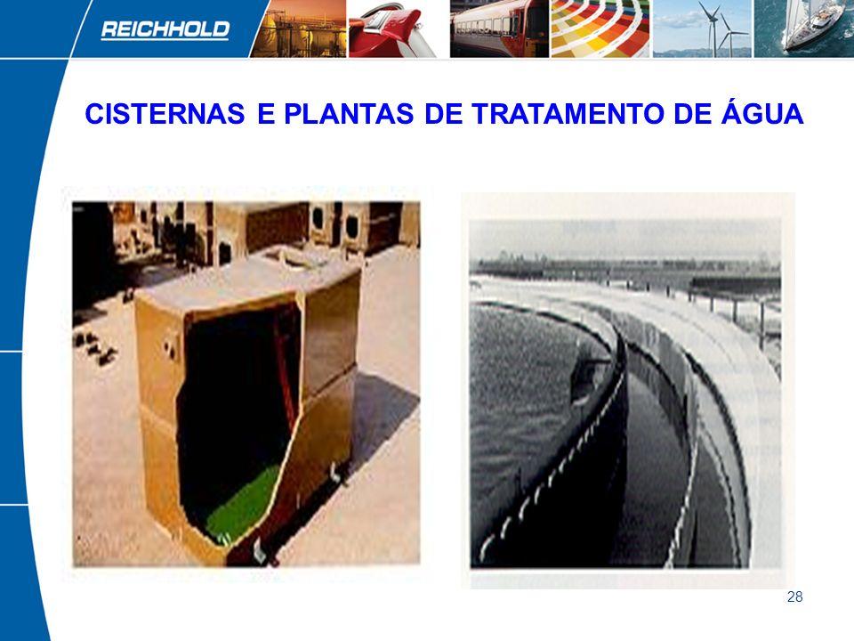 CISTERNAS E PLANTAS DE TRATAMENTO DE ÁGUA